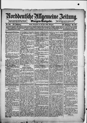 Norddeutsche allgemeine Zeitung vom 23.06.1894