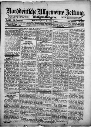 Norddeutsche allgemeine Zeitung vom 24.06.1894
