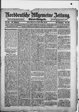 Norddeutsche allgemeine Zeitung vom 25.06.1894