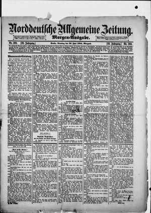 Norddeutsche allgemeine Zeitung vom 26.06.1894