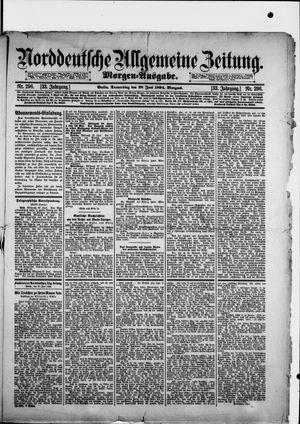 Norddeutsche allgemeine Zeitung vom 28.06.1894