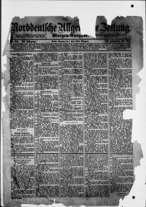 Norddeutsche allgemeine Zeitung vom 01.07.1894