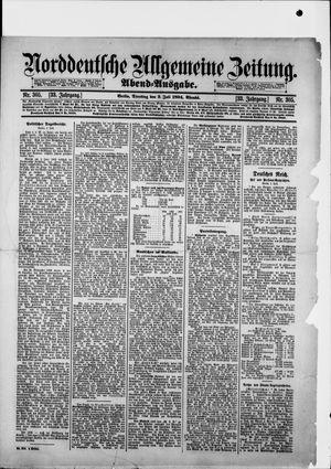 Norddeutsche allgemeine Zeitung vom 03.07.1894