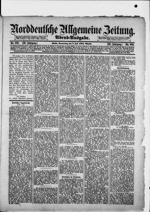Norddeutsche allgemeine Zeitung vom 05.07.1894
