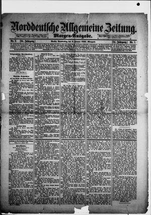 Norddeutsche allgemeine Zeitung vom 03.01.1895