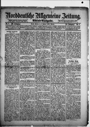 Norddeutsche allgemeine Zeitung vom 04.01.1895