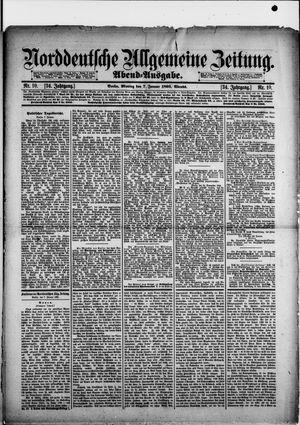 Norddeutsche allgemeine Zeitung vom 07.01.1895
