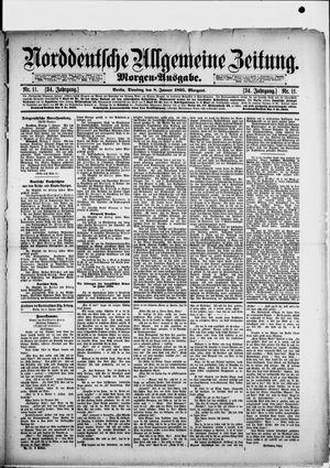 Norddeutsche allgemeine Zeitung vom 08.01.1895