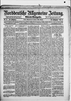 Norddeutsche allgemeine Zeitung on Jan 9, 1895