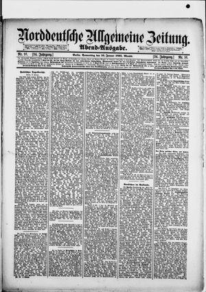 Norddeutsche allgemeine Zeitung vom 10.01.1895