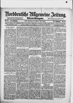 Norddeutsche allgemeine Zeitung vom 12.01.1895