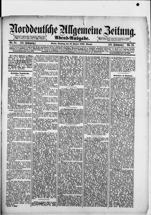 Norddeutsche allgemeine Zeitung vom 15.01.1895