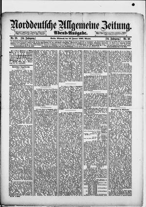 Norddeutsche allgemeine Zeitung vom 16.01.1895