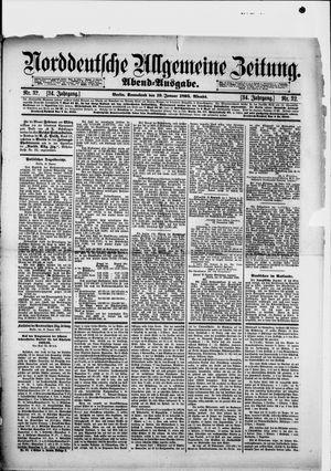 Norddeutsche allgemeine Zeitung vom 19.01.1895