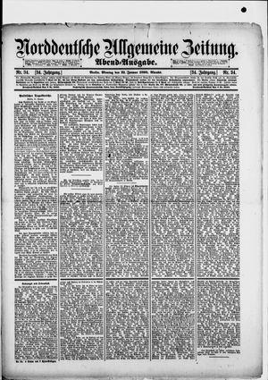 Norddeutsche allgemeine Zeitung vom 21.01.1895