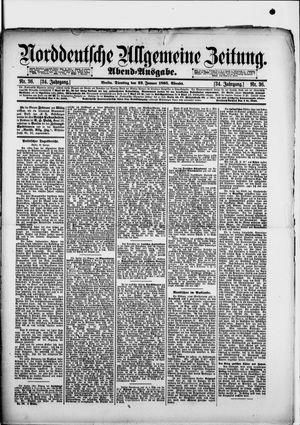 Norddeutsche allgemeine Zeitung vom 22.01.1895
