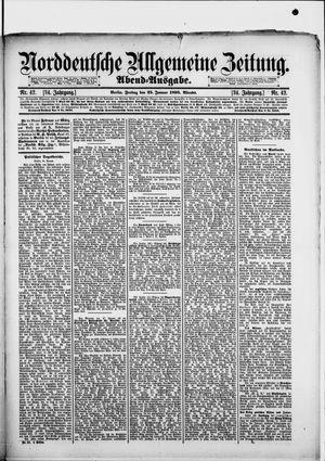 Norddeutsche allgemeine Zeitung vom 25.01.1895