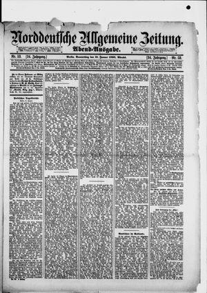 Norddeutsche allgemeine Zeitung vom 31.01.1895