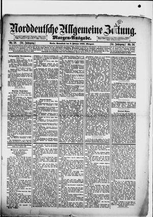Norddeutsche allgemeine Zeitung vom 02.02.1895
