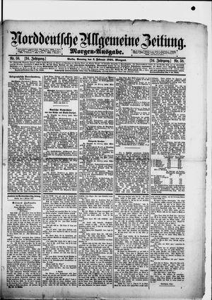 Norddeutsche allgemeine Zeitung vom 03.02.1895