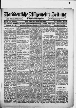 Norddeutsche allgemeine Zeitung vom 04.02.1895