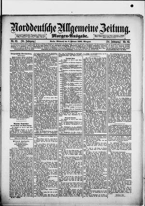 Norddeutsche allgemeine Zeitung vom 06.02.1895