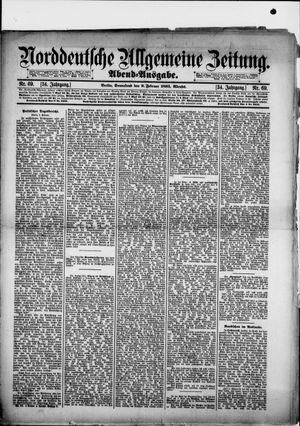 Norddeutsche allgemeine Zeitung vom 09.02.1895