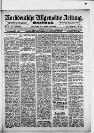 Norddeutsche allgemeine Zeitung vom 11.02.1895