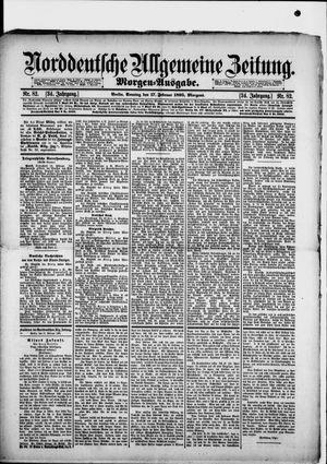 Norddeutsche allgemeine Zeitung vom 17.02.1895