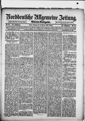 Norddeutsche allgemeine Zeitung vom 19.02.1895