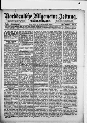 Norddeutsche allgemeine Zeitung vom 22.02.1895