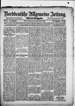 Norddeutsche allgemeine Zeitung vom 23.02.1895
