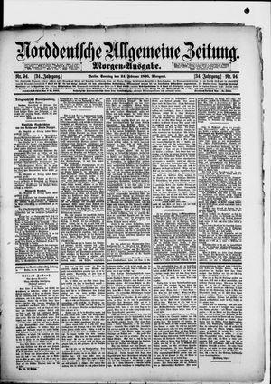 Norddeutsche allgemeine Zeitung on Feb 24, 1895