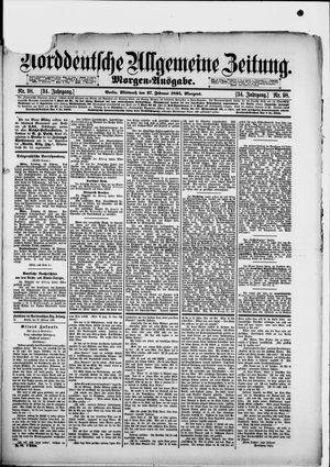 Norddeutsche allgemeine Zeitung vom 27.02.1895