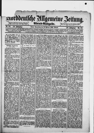 Norddeutsche allgemeine Zeitung vom 28.02.1895