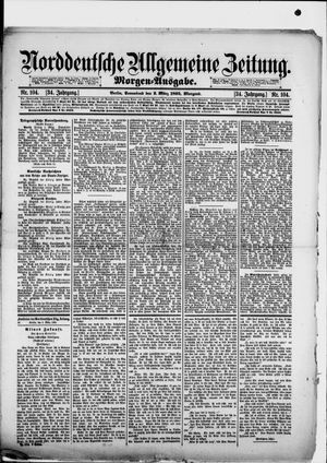 Norddeutsche allgemeine Zeitung on Mar 2, 1895