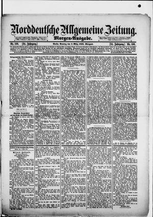 Norddeutsche allgemeine Zeitung vom 03.03.1895