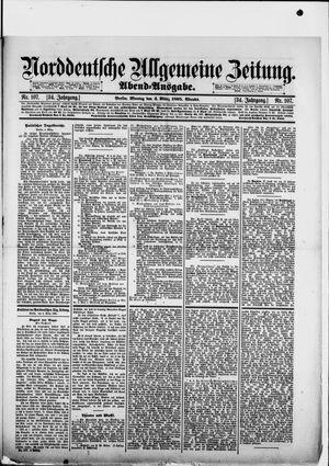 Norddeutsche allgemeine Zeitung vom 04.03.1895