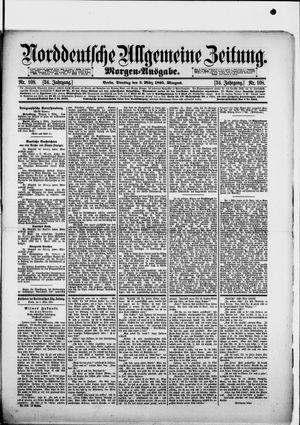 Norddeutsche allgemeine Zeitung vom 05.03.1895