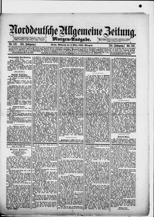 Norddeutsche allgemeine Zeitung vom 06.03.1895