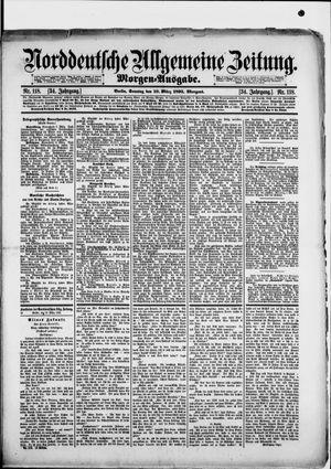 Norddeutsche allgemeine Zeitung vom 10.03.1895