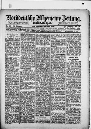 Norddeutsche allgemeine Zeitung on Mar 11, 1895