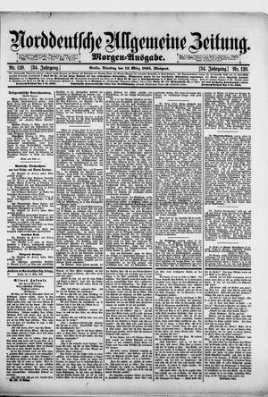 Norddeutsche allgemeine Zeitung vom 12.03.1895