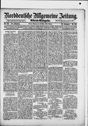 Norddeutsche allgemeine Zeitung vom 13.03.1895
