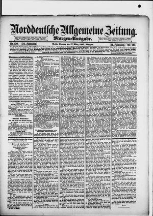 Norddeutsche allgemeine Zeitung on Mar 17, 1895
