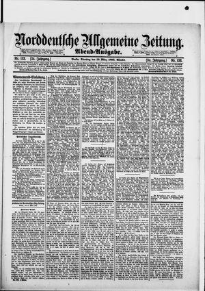 Norddeutsche allgemeine Zeitung on Mar 19, 1895