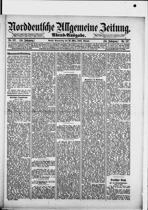 Norddeutsche allgemeine Zeitung vom 21.03.1895