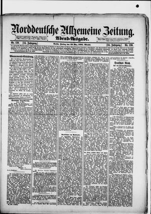 Norddeutsche allgemeine Zeitung on Mar 22, 1895