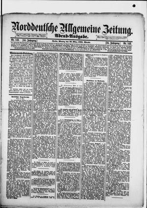 Norddeutsche allgemeine Zeitung vom 25.03.1895
