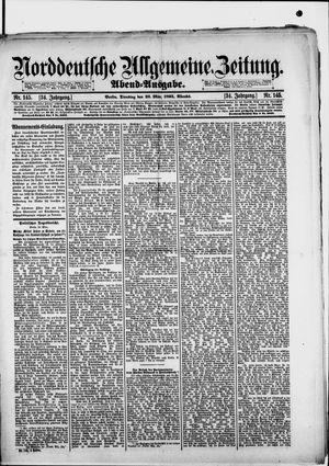 Norddeutsche allgemeine Zeitung vom 26.03.1895